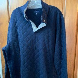 Men's Croft & Barrow 1/4 button long sleeved shirt